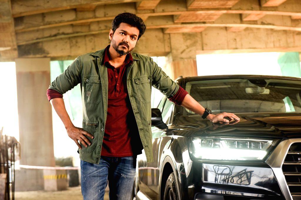 Hyderabad: Telugu upcoming film Sarkar - stills. (Photo: IANS)