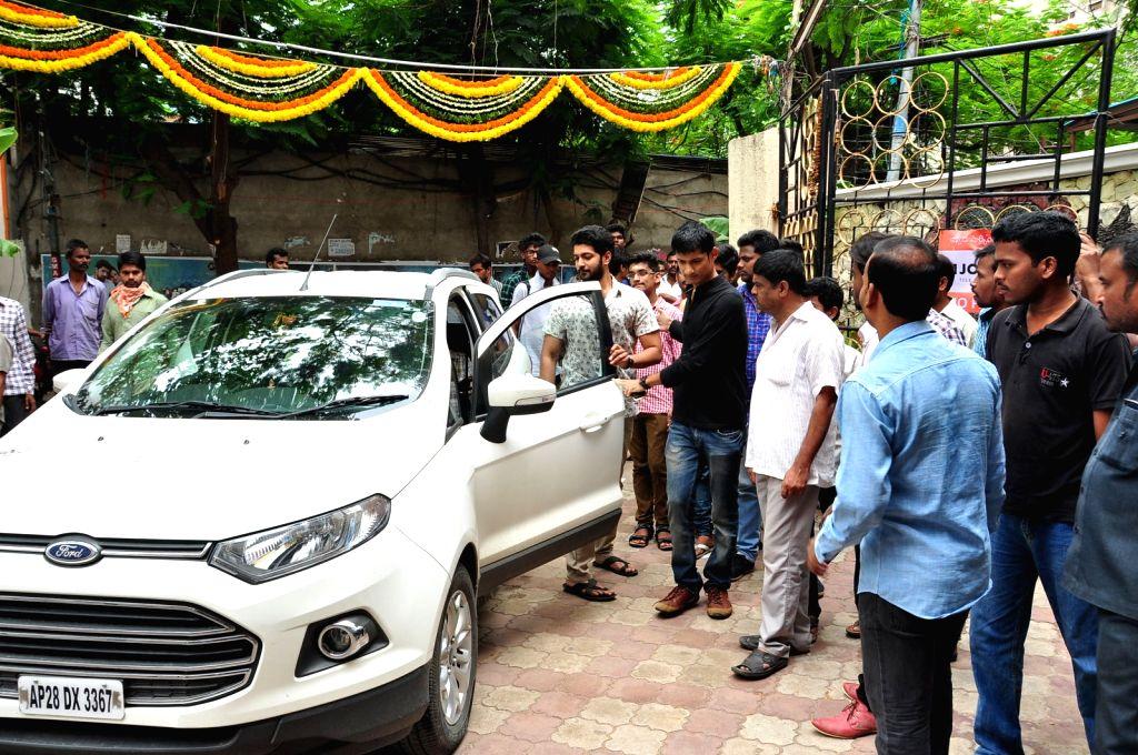 Tippu Movie team at Sri Mayuri theatre.