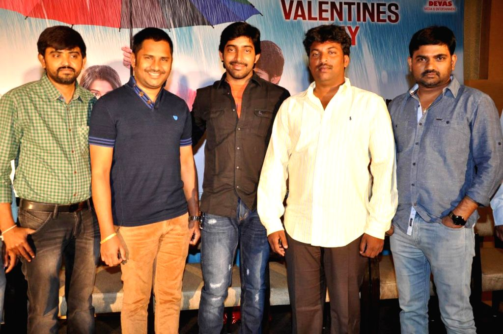 Yes film first look teaser launched at Hyderabad.