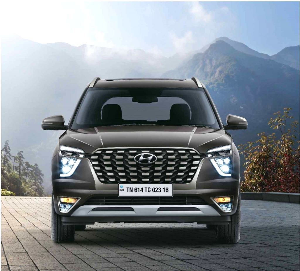 Hyundai India launches premium SUV Alcazar.
