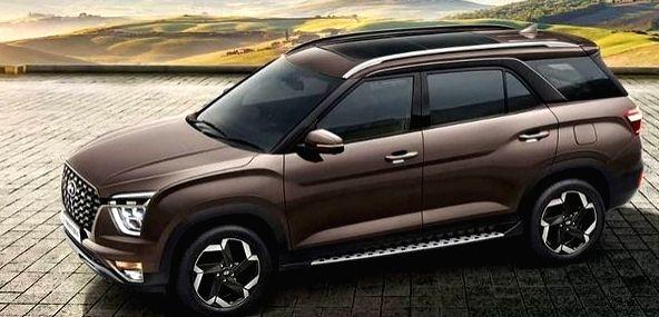 Hyundai India launches premium SUV Alcazar.(photo:Instagram)