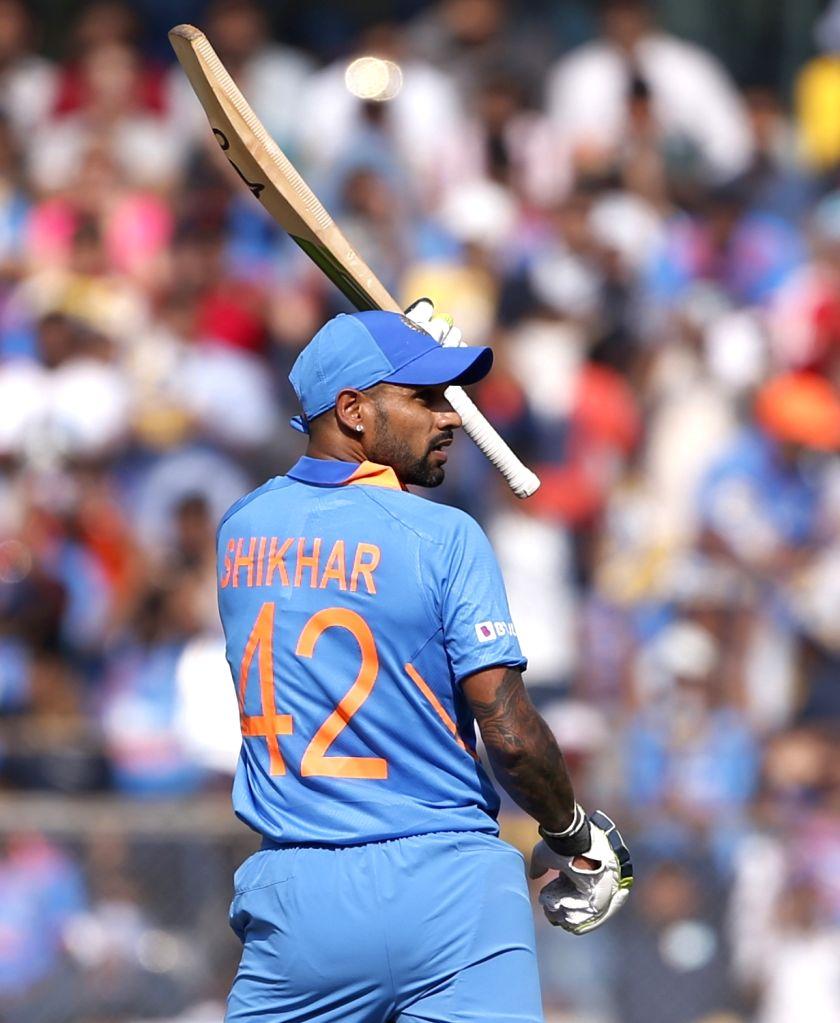 I enjoy Dhawan's batting, he's a thorough professional: Miller. (Photo: Surjeet Yadav/IANS) - Surjeet Yadav