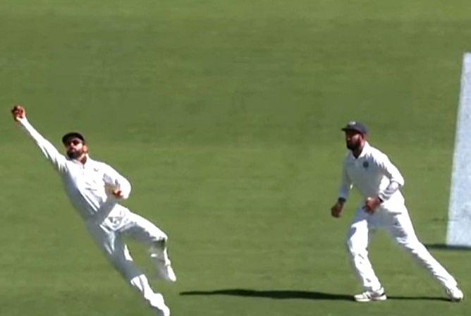 I hope you will go for the ball: Kohli teases Pujara.