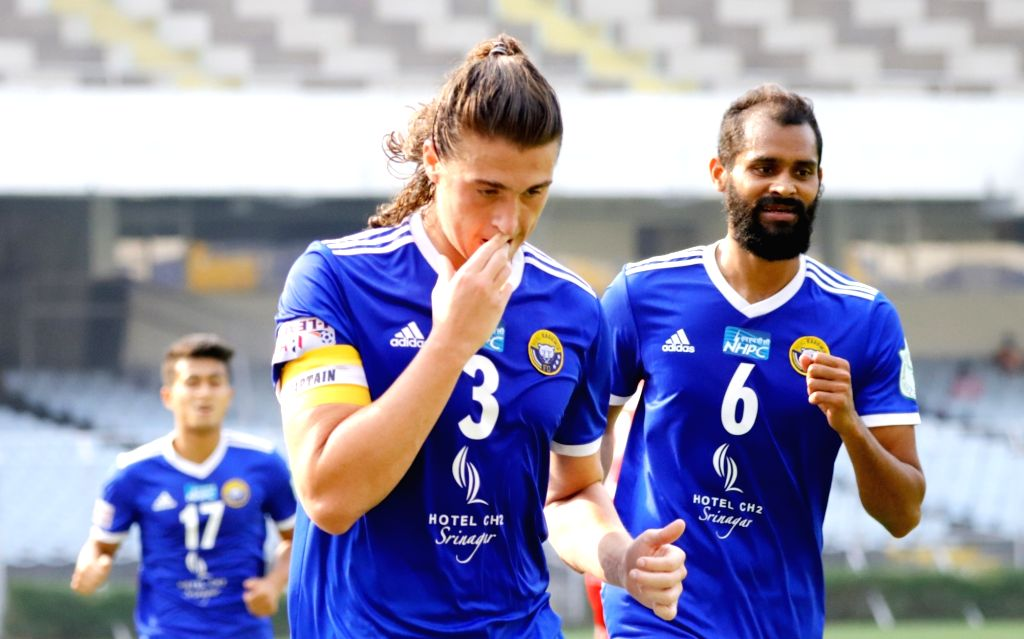 I-League: Robertson's brace helps Real Kashmir to 3-1 win over Aizawl (Credit:AIFF)