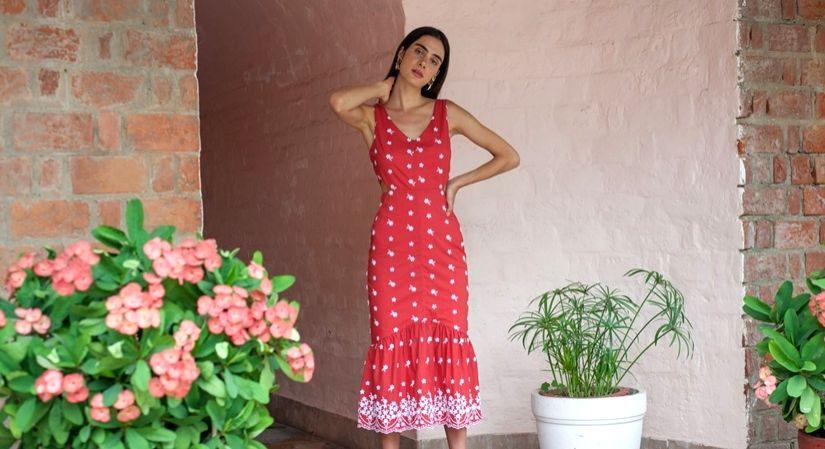 'I love bringing fabrics to life'.