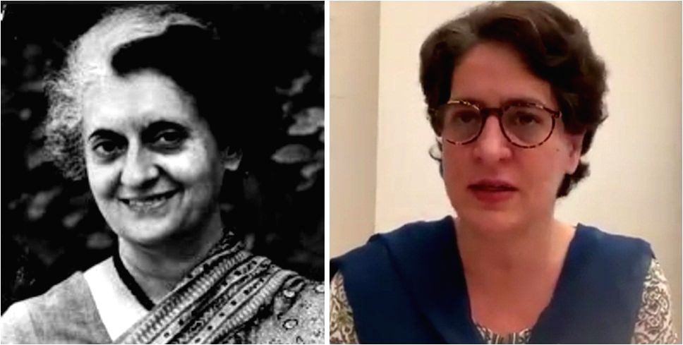 I'm Indira's granddaughter, nothing can stop me from telling truth'.
