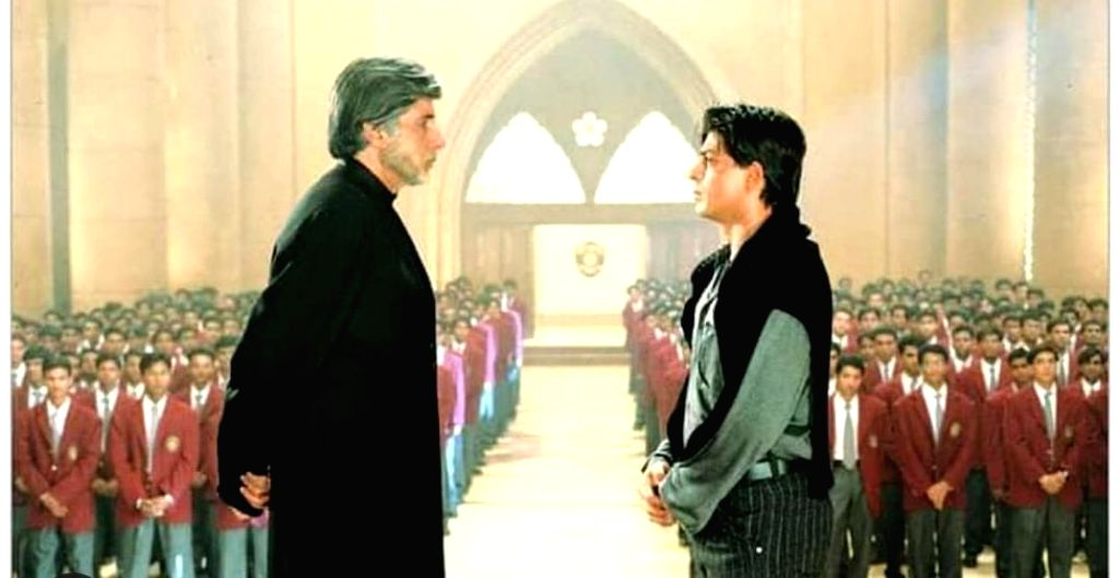 I realised how short I am while shooting with Big B
