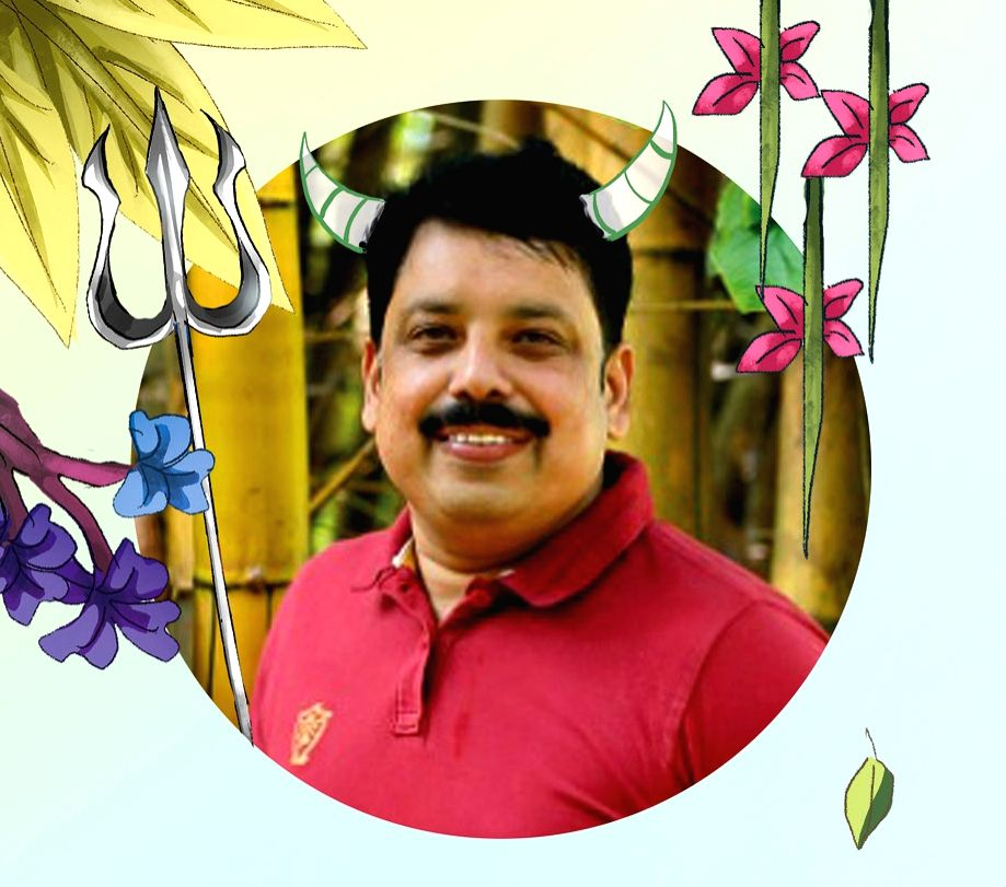 I stand on the shoulders of giants of Indian literature: Anand Neelakanthan. (Photo: IANS)