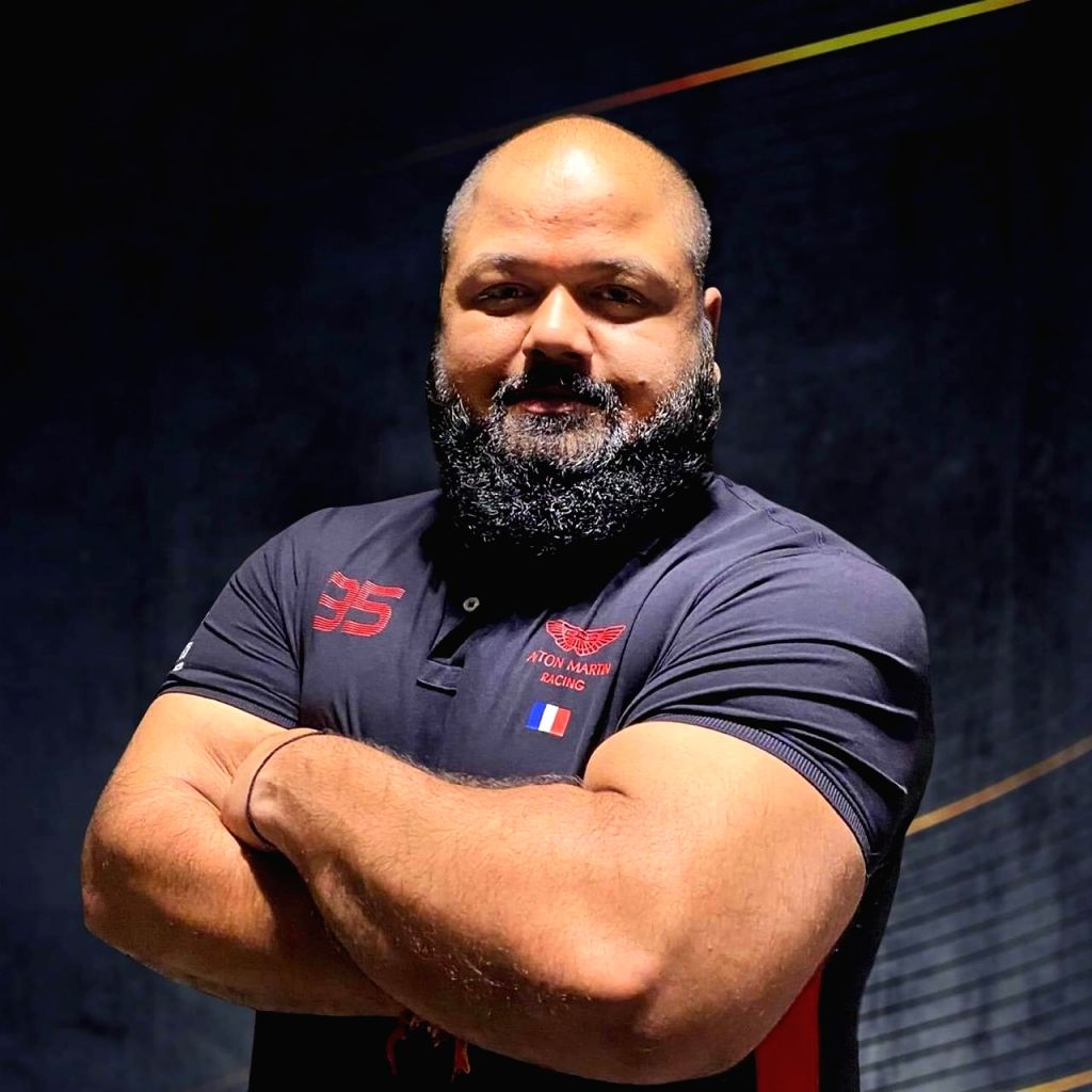 I want to be world's strongest man now, says powerlifter Gaurav.