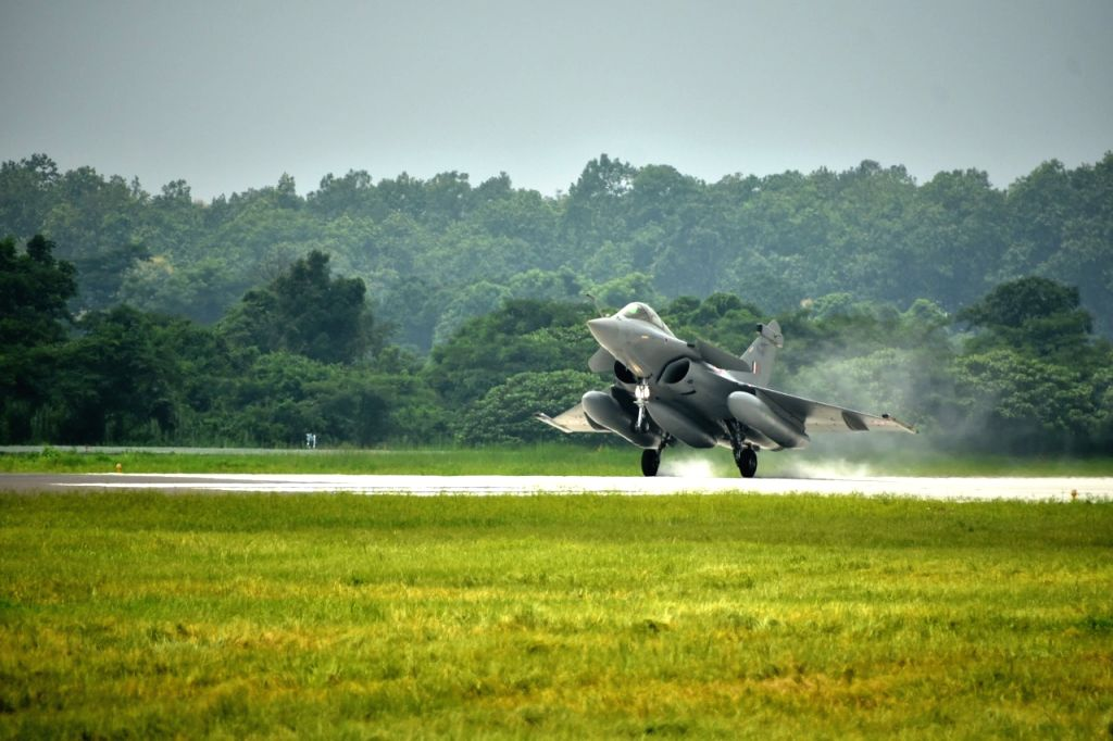 IAF formally inducts Rafale aircraft into 101 Squadron at Hasimara