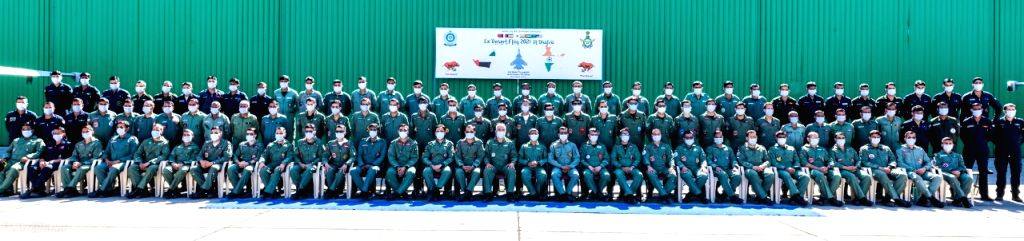 IAF to take part in Exercise Desert Flag-VI in UAE from Wed