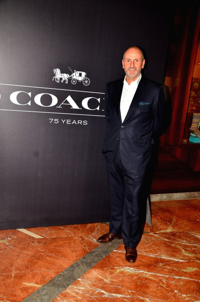 Ian Bickley, President, Coach International during the Coach launch celebrations in Mumbai, on Aug 4, 2016. Coach celebrates  the launch of its first store in India.