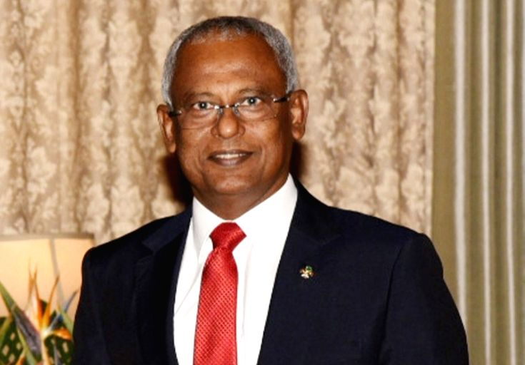 Ibrahim Mohamed Solih. (File Photo: IANS)