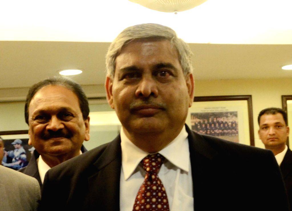 ICC chief Shashank Manohar. (File Photo: IANS)