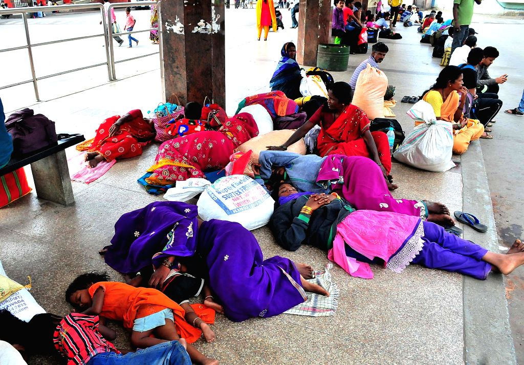 ICommuters stranded at Kempegowda Bus Station during Karnataka wide strike called to protest against release of Cauvery river water to Tamil Nadu on Sept 9, 2016. The Supreme Court on ...