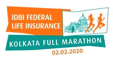 IDBI Federal Life Insurance Kolkata Full Marathon 2020.
