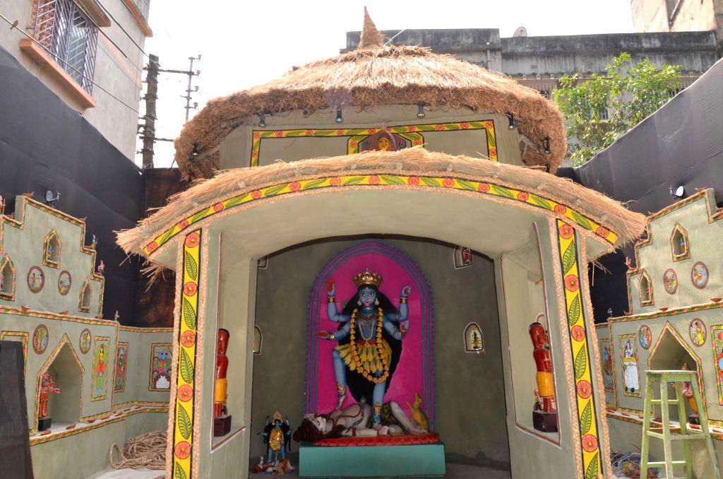 Kali Puja pandal of Dum Dum