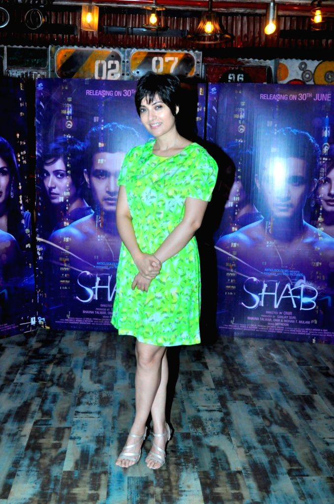 Iduring the interview with 'Shab' film actor Sanjay Suri For her upcomming Film Shab - Sanjay Suri For