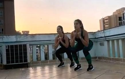 If you are missing your gym sessions due to coronavirus outbreak, don't worry. Actress Katrina Kaif has shared some amazing workout exercises you all can do at home, amid the COVID-19 lockdown. - Katrina Kaif
