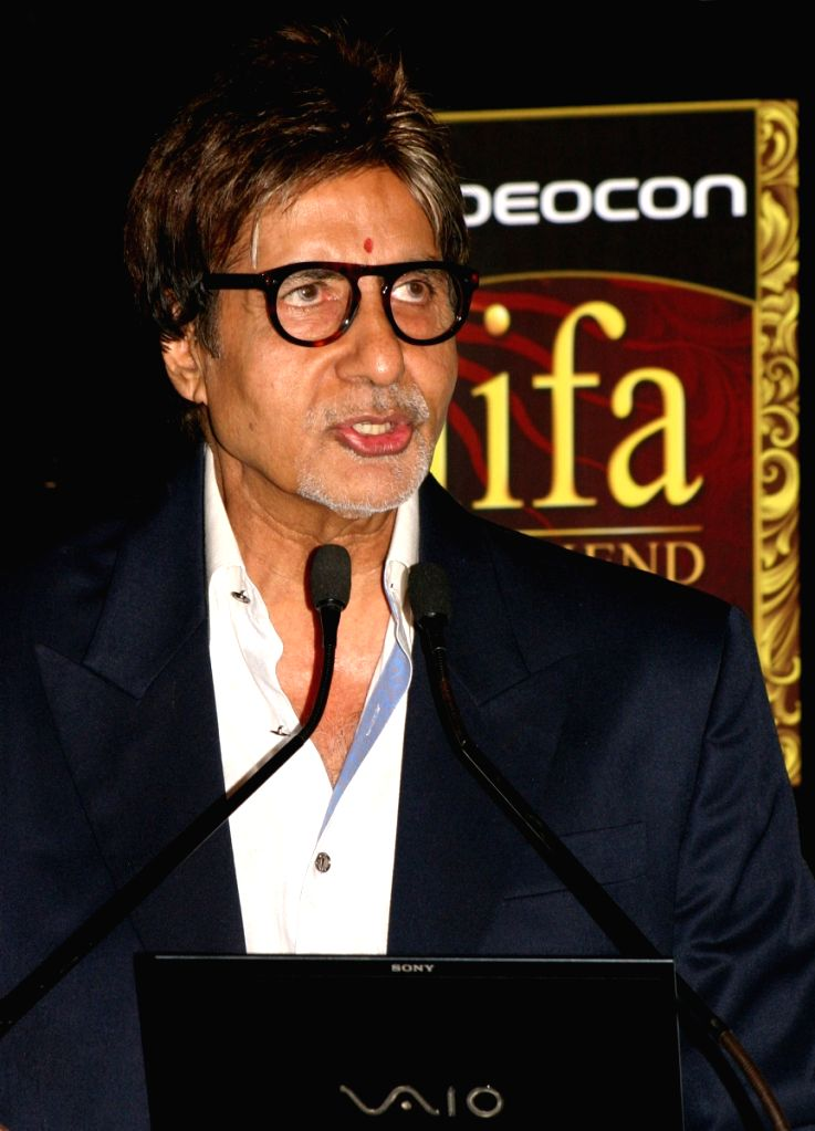 IIFA Brand Ambassador Amitabh Bachchan today announced the 3 day Videocon IIFA Weekend festivities at Macau, at a press-meet in Gurgaon on Tuesday 2nd June 2009.