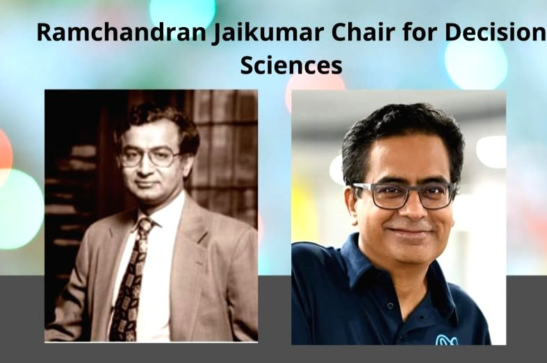 IIT Delhi: Professor Ramachandran's honor will be established chair