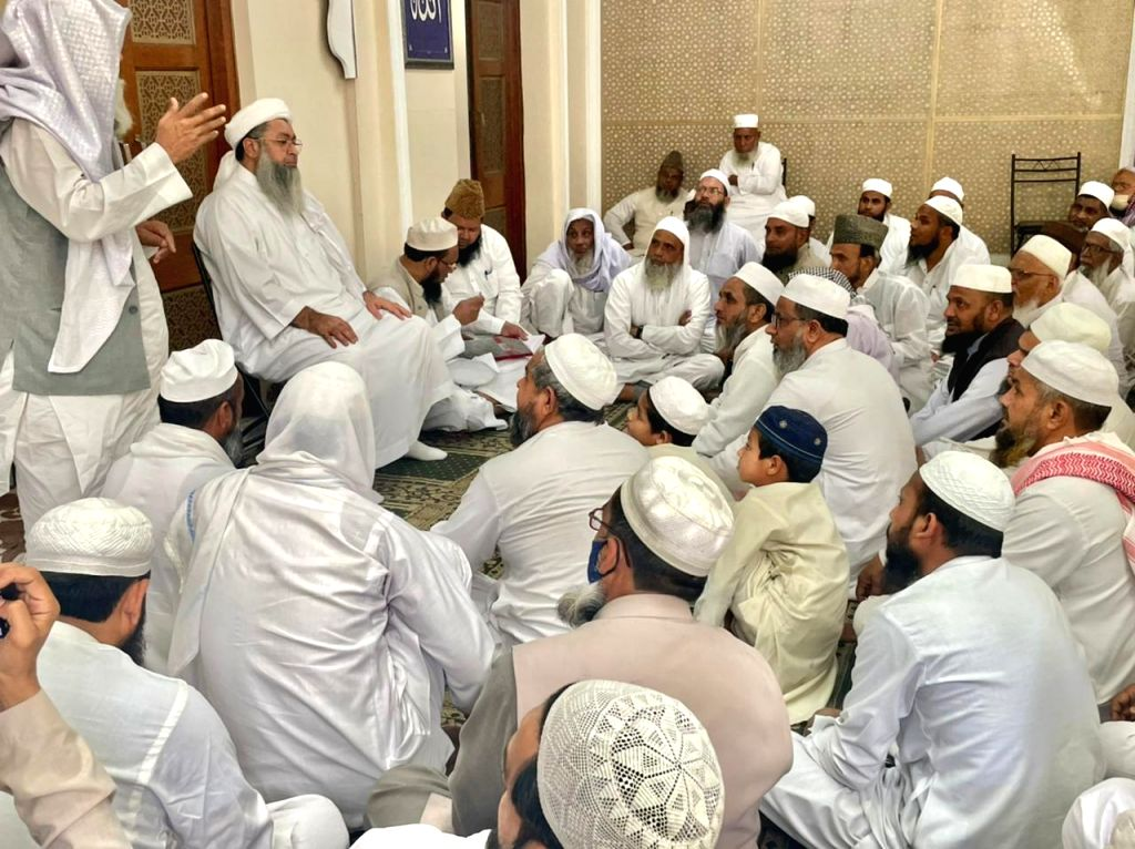Imams meeting before Ramadan, worried about rising Corona matters.