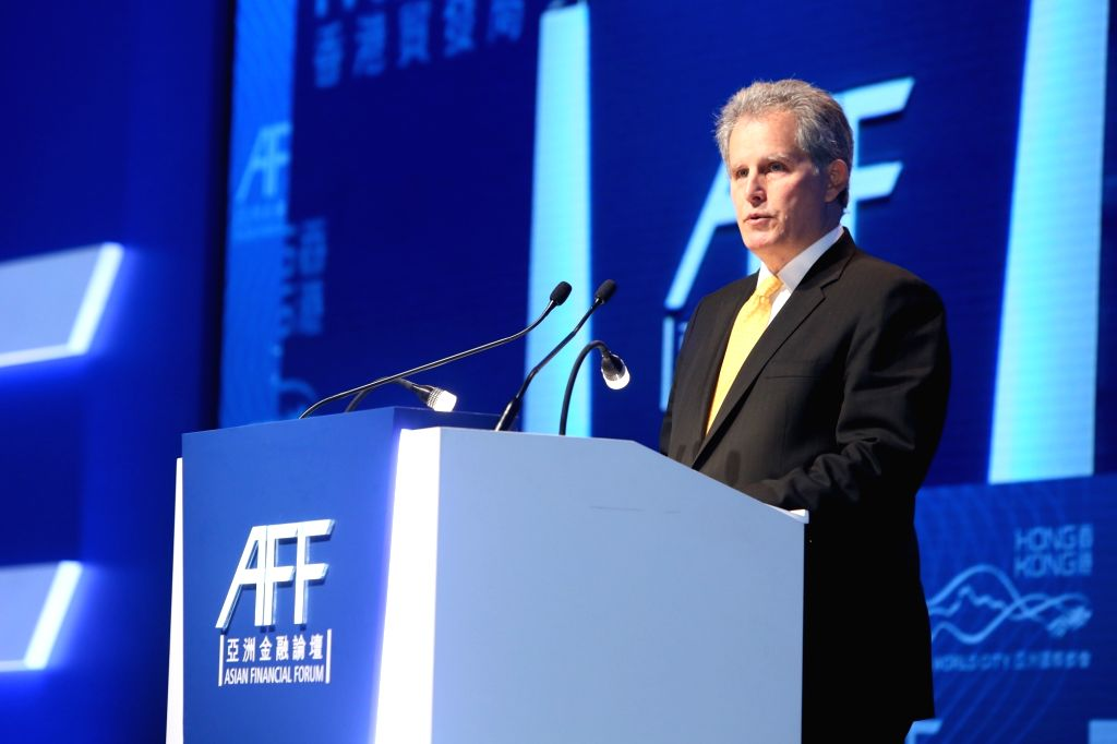 IMF executive David Lipton at 11th Asian Financial Forum.