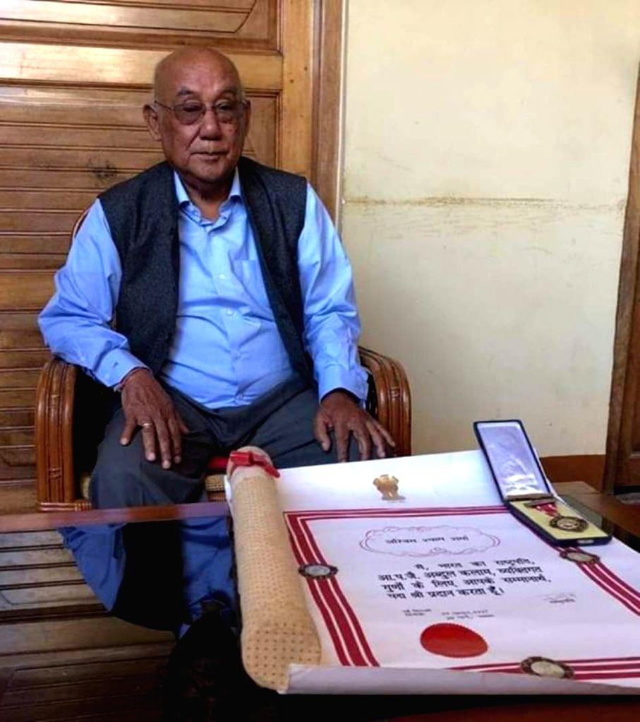 Imphal: Fifteen-times National Award winner Manipuri filmmaker Aribam Syam Sharma who said he will return the Padma Shri - the fourth highest civilian award in India - to protest against the controversial Citizenship (Amendment) Bill, on Feb 3, 2019. - Aribam Syam Sharma