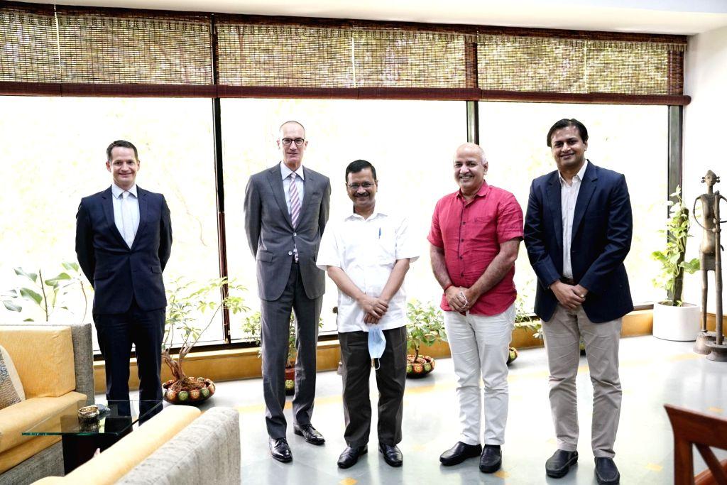 Important meeting of Delhi CM with the Ambassador of Switzerland.