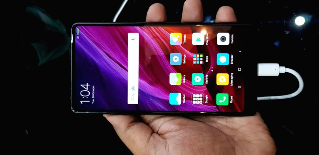 In a bid to compete with Samsung Note 8 and Apple iPhone X, Chinese tech giant Xiaomi launched Mi Mix 2 with a full screen display. (Photo: IANS)
