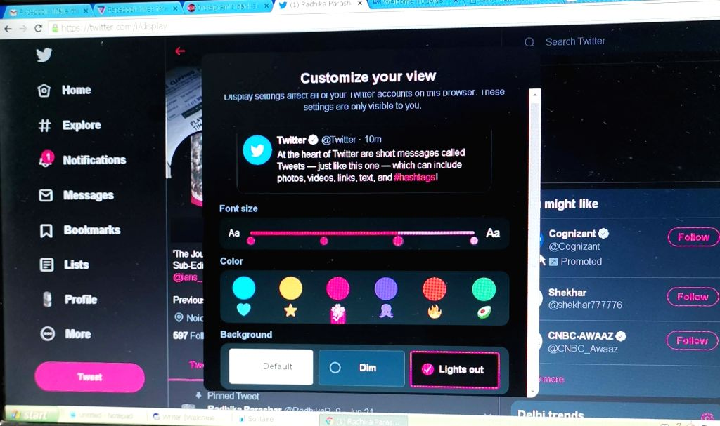 In a bid to make navigation faster, easier and website more personalized, micro-blogging site Twitter is rolling out an updated desktop version. The updated Twitter website brings more of What's Happening along with easy access to other features like
