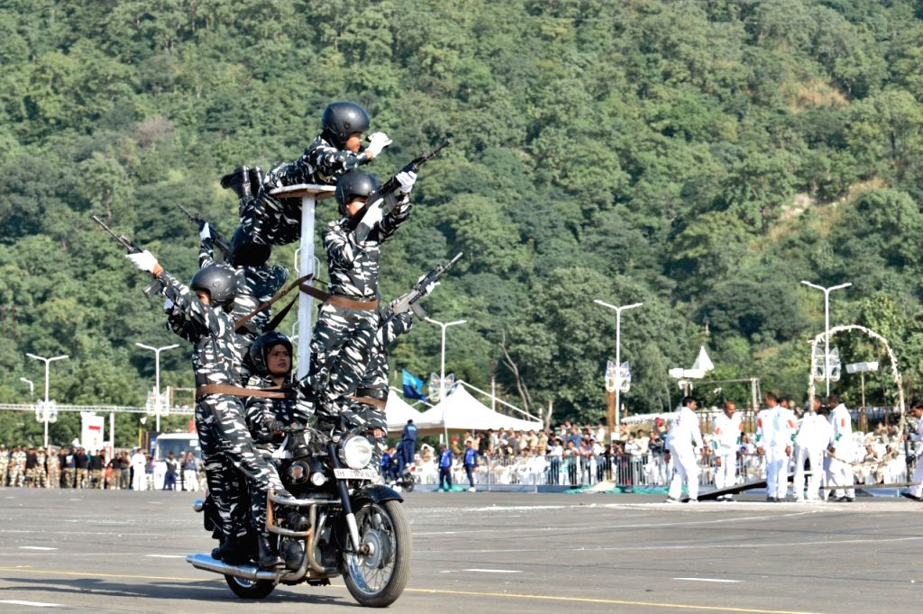 "In a first, a team of over 50 women bikers from Central Reserve Police Force (CRPF) would be showcasing ""aerobic frills and finesse a among other stunts on grandeur-laced Rajpath on the occasion of 71st Republic Day celebration."