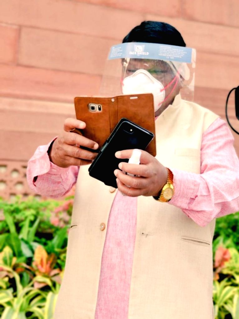 In a first: MPs register attendance in Parliament through App .