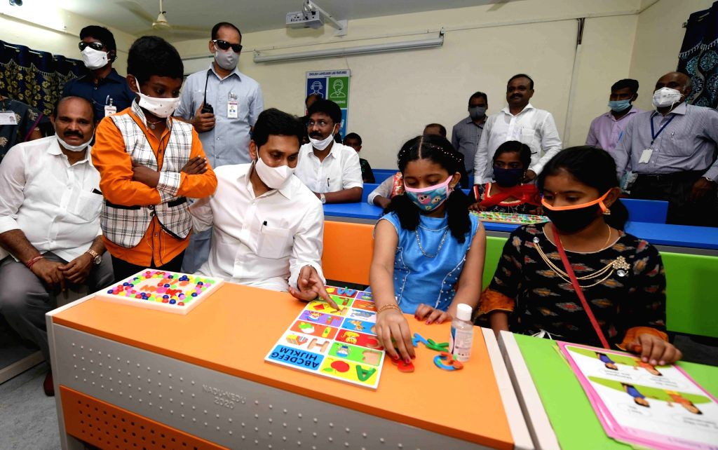 In one of the first major public programmes amid the Covid pandemic and multiple unlock phases, Andhra Pradesh Chief Minister Y.S. Jagan Mohan Reddy on Thursday launched the ???Jagananna ... - Y.