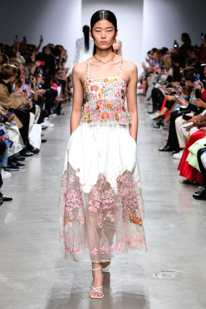 In terms of Fashion news what caused a significant stir was the unusual collaboration between Belgian designer Dries Van Noten and French couturier Christian Lacroix at Paris Fashion Week Spring Summer 2020.
