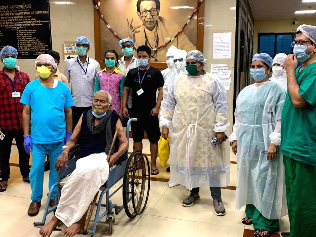 In the most cheerful news from Mumbai - the country???s worst-hit city by Covid-19 - on the eve of his 101st birthday, a 100-year old ex-teacher conquered the Coronavirus and was discharged ...