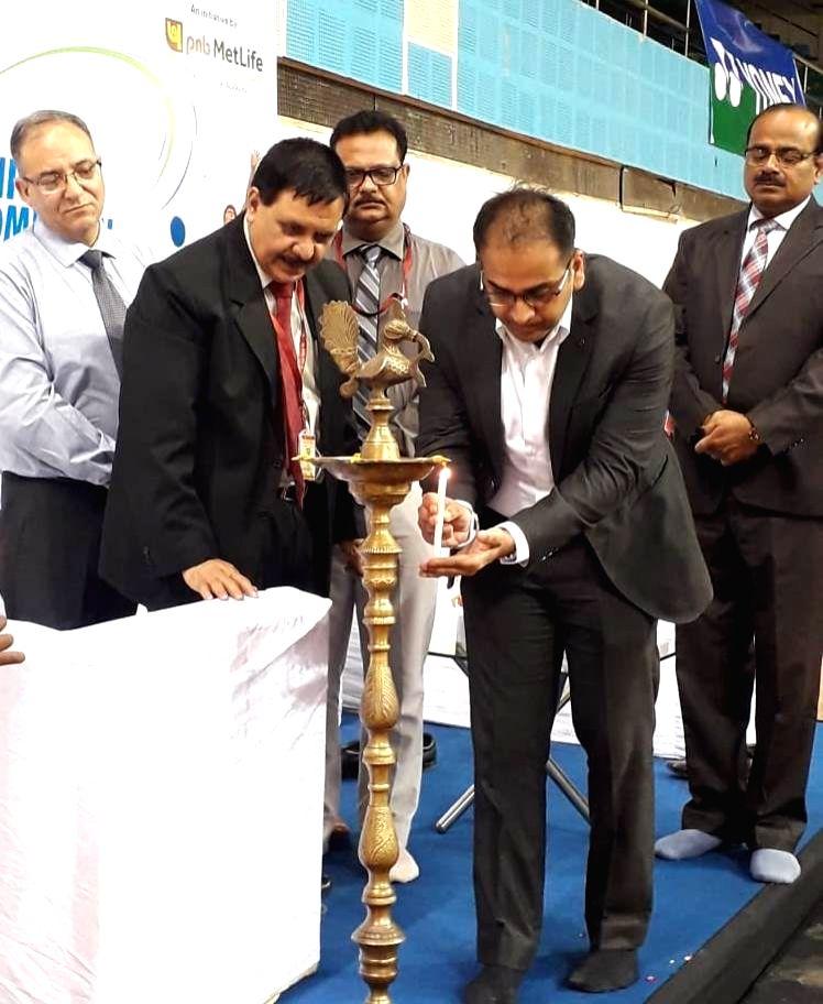 Inauguration of Junior Badminton Championship (JBC) - Season 5 in New Delhi on Sep 3, 2019.