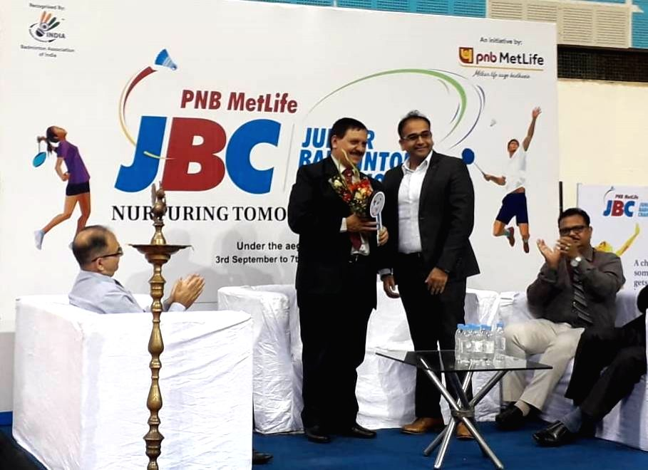 Inauguration of Junior Badminton Championship (JBC) - Season 5 in New Delhi on Sep 3, 2019.