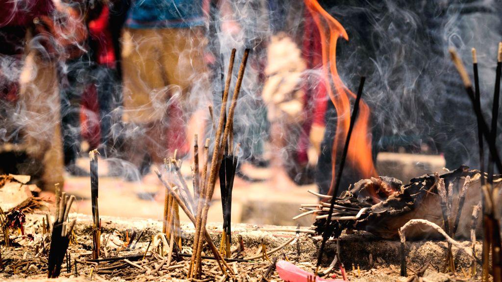 Incense sticks.�