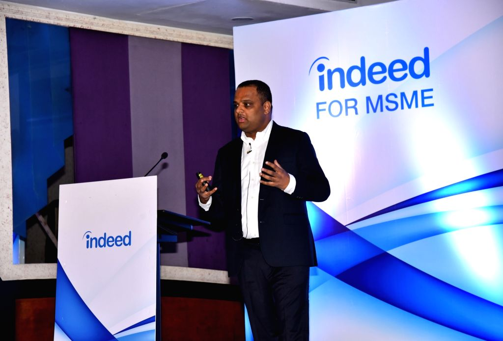 Indeed India Managing Director Sashi Kumar during a press conference in Kolkata on Sep 12, 2019. - Sashi Kumar