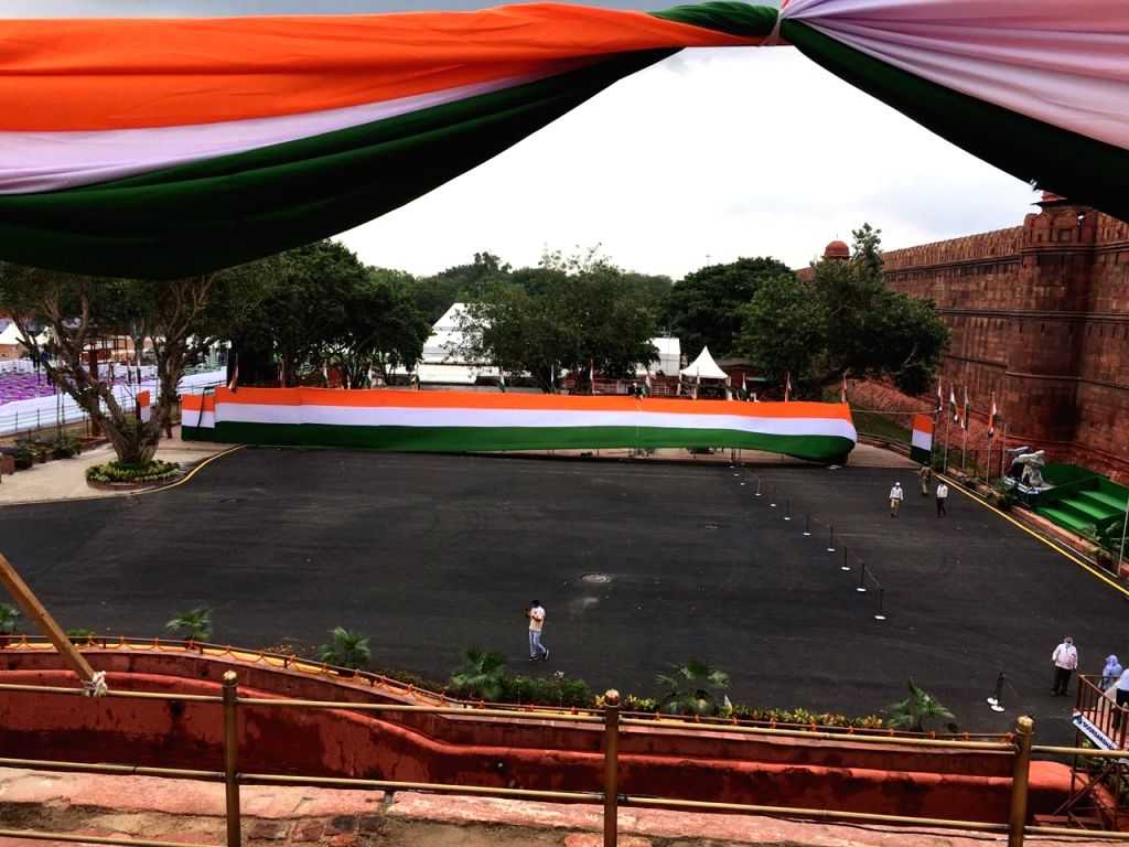 Independence Day Preparation. Sourced: Indian Army.