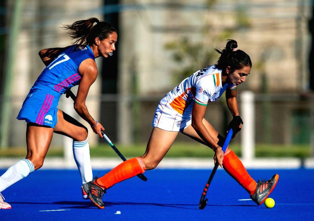 India, Argentina women's hockey.