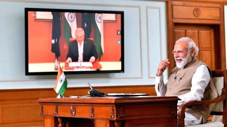 India, Australia sign maritime cooperation in Indo-Pacific region.