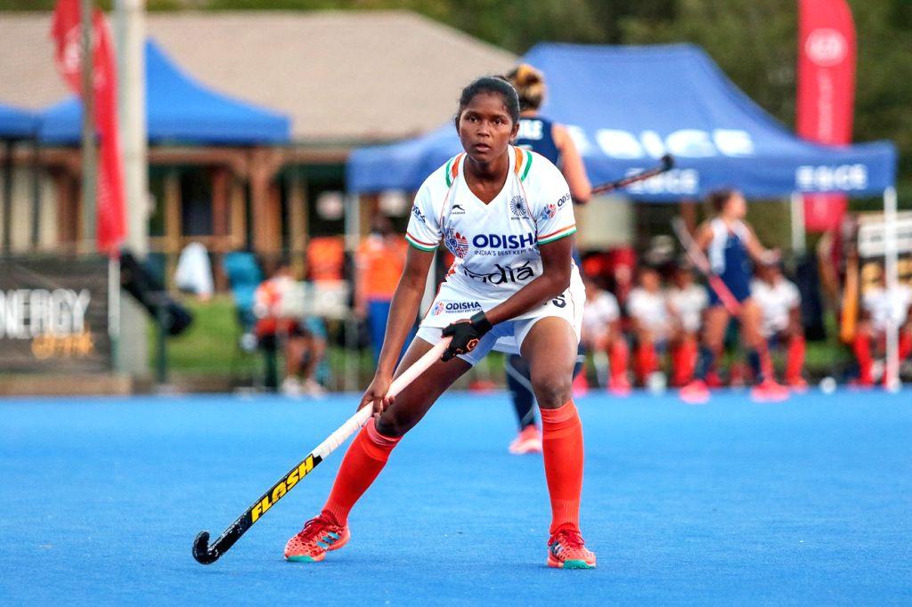 India beat Chile 4-2 in junior women's hockey (Credit: Hockey India)