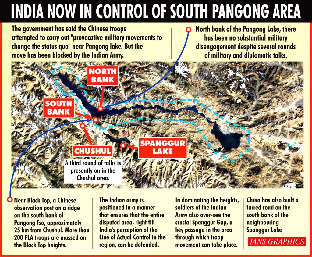 India, China engage in 3rd military dialogue after fresh skirmishes at Pangong Tso.