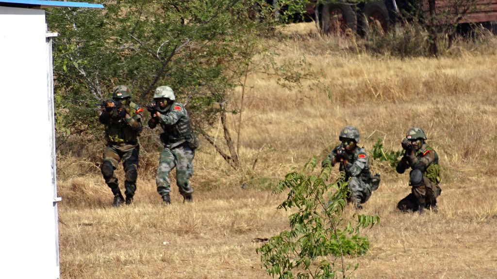 India-China joint exercise at Pune military camp
