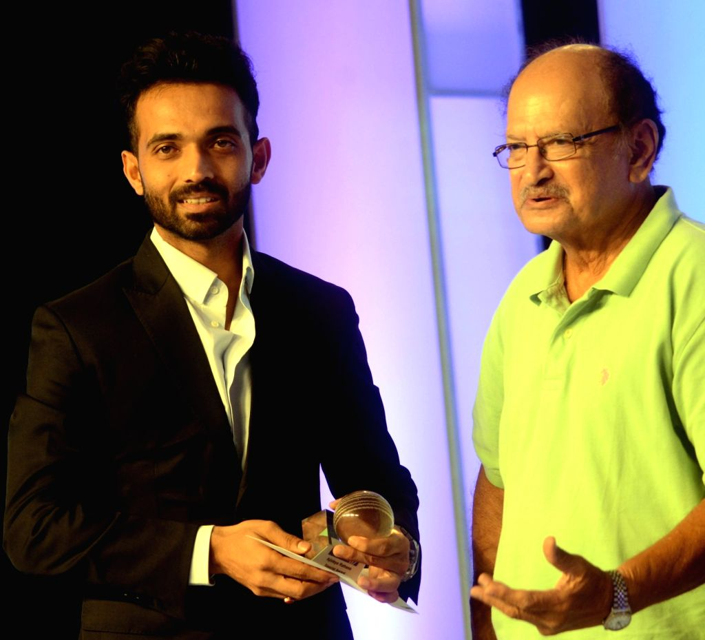 India cricketer Ajinkya Rahane during the CEAT award function in Mumbai on May 30, 2016.
