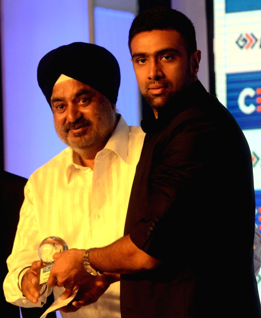 India cricketer R Ashwin during the CEAT award function in Mumbai on May 30, 2016.