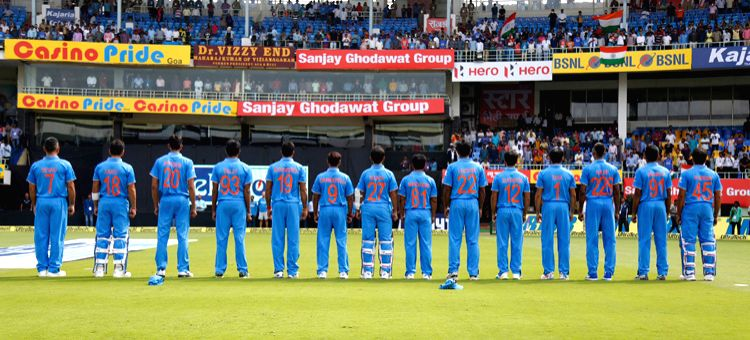 India cricketers wear mothers\' names on their jerseys