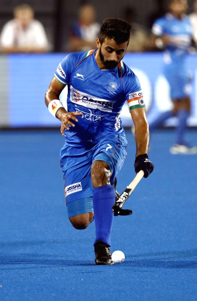 India men's team announced for Argentina Pro League matches.(Credit: Hockey India)